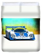 Porsche 956c - 118 Duvet Cover