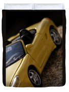 Porsche Car Duvet Cover