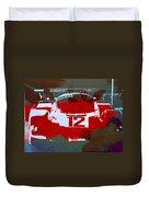 Porsche Le Mans Duvet Cover by Naxart Studio