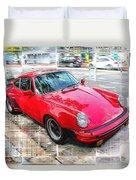 Porsche Series 02 Duvet Cover
