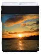 Port Angeles Sunburst Duvet Cover