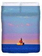 Port Austin Reef Light Duvet Cover