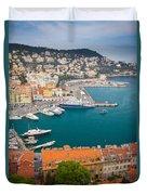 Port Du Nice Duvet Cover