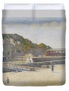 Port En Bessin Duvet Cover