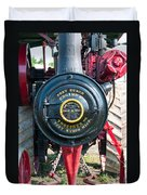 Port Huron Tractor Duvet Cover