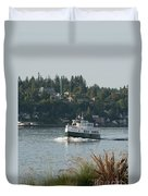 Port Orchard Foot Ferry Duvet Cover