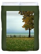 Port Sanilac Lookout, Michigan Duvet Cover