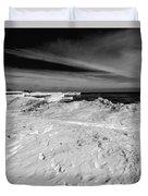 Port Washington - South Beach B-w  Duvet Cover