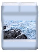 Portage Glacier Rretreat Duvet Cover
