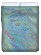 Portal In Belize Reef Duvet Cover