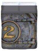 Porter And Company Steam Boiler Duvet Cover