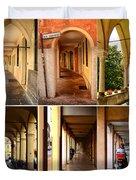 Porticos Of Padua No 4 Duvet Cover