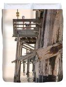 Portion Of The Pier Balboa Duvet Cover