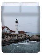 Portland Head Lighthouse 8557 Duvet Cover