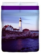 Portland Head Lighthouse Duvet Cover