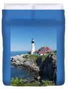 Portland Lighthouse 2 Duvet Cover