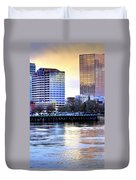 Portland Reflections 22929 Hdr Duvet Cover