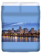 Portland Skyline Pm2 Duvet Cover