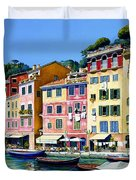 Portofino Sunshine Sold Duvet Cover