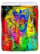 Portrait 703 - Marucii Duvet Cover