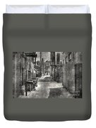 Portrait Alley-2 Duvet Cover