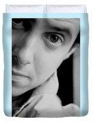 Portrait Figurative Study Piece Of Bobby  Duvet Cover