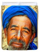 Portrait Of A Berber Man  Duvet Cover