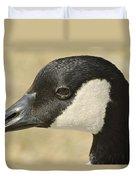 Portrait Of A Canadian Goose  Duvet Cover
