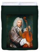 Portrait Of A Cellist Duvet Cover