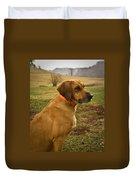 Portrait Of A Dog Duvet Cover