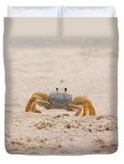 Portrait Of A Ghost Crab Duvet Cover