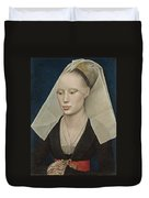 Portrait Of A Lady Duvet Cover