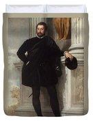 Portrait Of A Man Duvet Cover