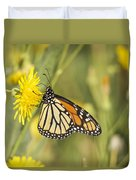 Portrait Of A Monarch Duvet Cover