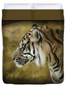 Portrait Of A Tiger  Duvet Cover