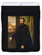 Portrait Of A Venetian Senator Duvet Cover