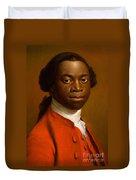 Portrait Of An African Duvet Cover