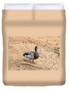Portrait Of An Alabama Duck 2 Duvet Cover