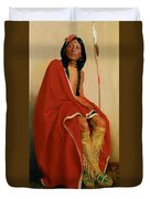 Elk Foot Of The Taos Tribe Duvet Cover