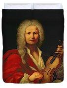 Portrait Of Antonio Vivaldi Duvet Cover