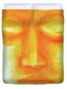 Portrait Of Buddha Duvet Cover