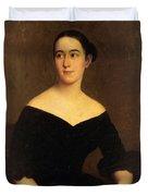 Portrait Of Cornelia Knott Miltenberger Duvet Cover