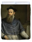 Portrait Of Daniele Barbaro Duvet Cover