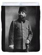Portrait Of Djemal Pasha Duvet Cover