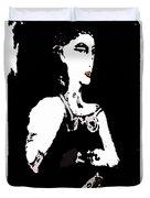 Portrait Of Drina Duvet Cover