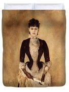 Portrait Of Isabella Reisser Duvet Cover