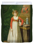 Portrait Of Isidore, 1810 Duvet Cover