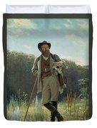 Portrait Of Ivan Ivanovich Shishkin Duvet Cover
