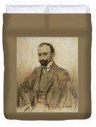 Portrait Of Jacinto Benavente Duvet Cover