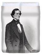 Portrait Of Jefferson Davis Duvet Cover